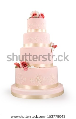 cake of bride and groom