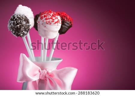 Cake, Wedding, Candy. - stock photo