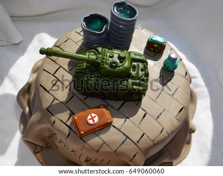 Cake War Stock Images RoyaltyFree Images Vectors Shutterstock