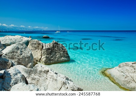 Cala goloritze, Sardinia - Italy  - stock photo