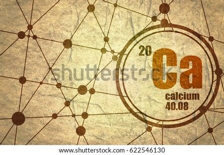 Iron chemical element sign atomic number stock illustration calcium chemical element sign with atomic number and atomic weight chemical element of periodic urtaz Gallery