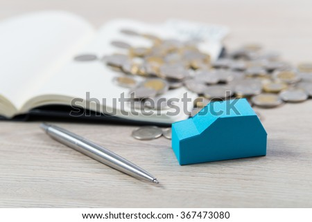 Calculate the cost of maintaining your car. - stock photo