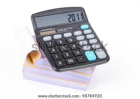 Calculator and documents