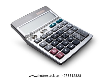 Calculator, Isolated, Mathematical Symbol.