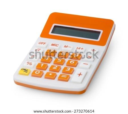 Calculator, Office Supply, Mathematics. - stock photo