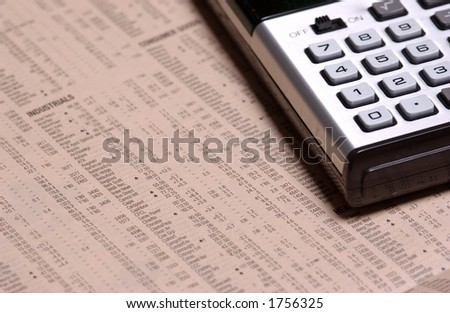 Calculator on stock prices