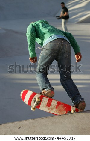 CALDAS DA RAINHA, PORTUGAL - JANUARY 9: Best Trick Championship - Skateboard, January 9, 2010 in Caldas da Rainha, Portugal