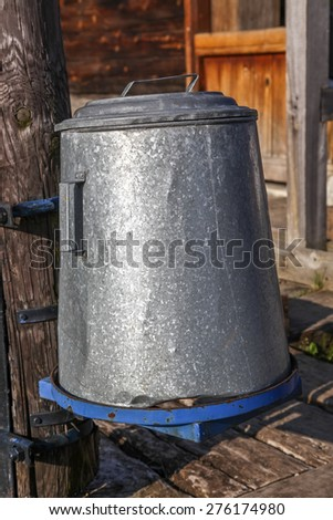 Caldron - stock photo