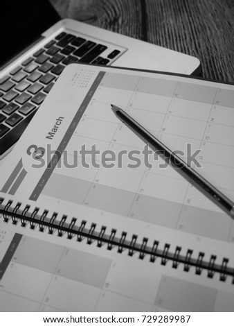 Calendar 2017 and Monthly Planner