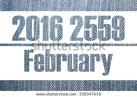 Calendar background gene 2016 2559, 12 Month and Happy New Year