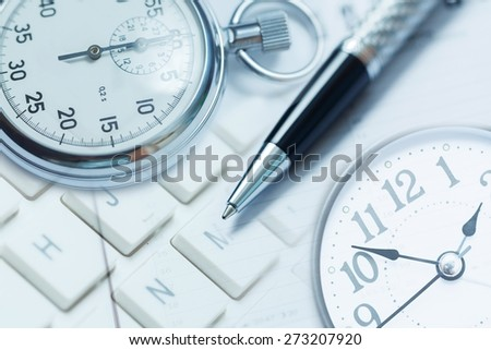 Calendar, business, page. - stock photo
