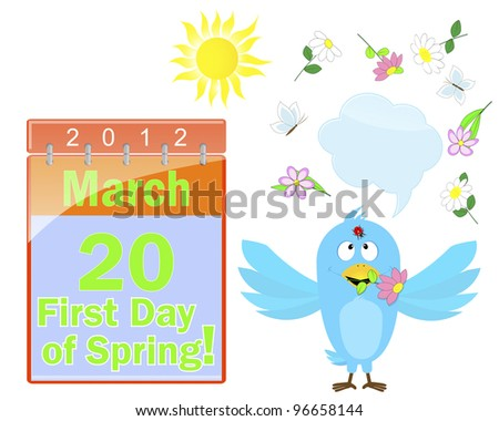 First Day Of Spring Stock Photos, Royalty-Free Images & Vectors ...