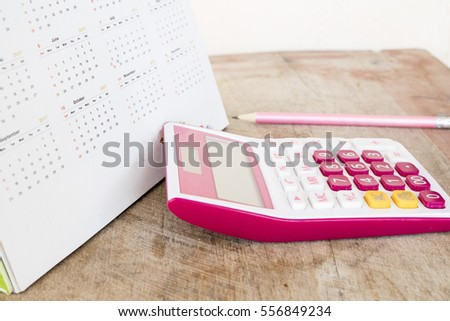 calendar monthly planner record for financial