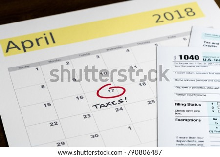 Tax Reminder Stock Images Royalty Free Images Vectors Shutterstock