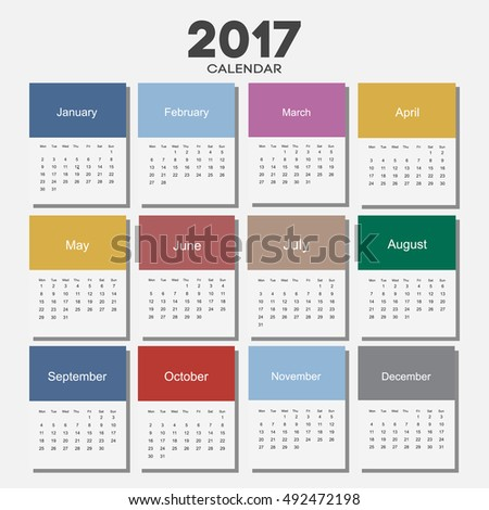 Календарь на 2017 год сделать
