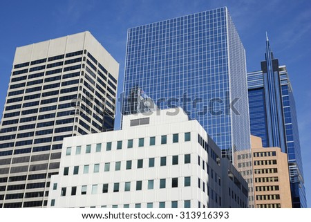 Calgary Financial District