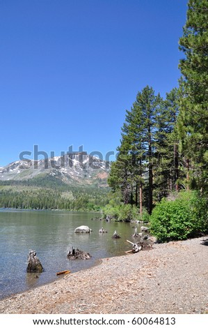 California Lake - stock photo