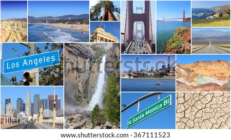 Usa Collage Stock Images Royalty Free Images Amp Vectors