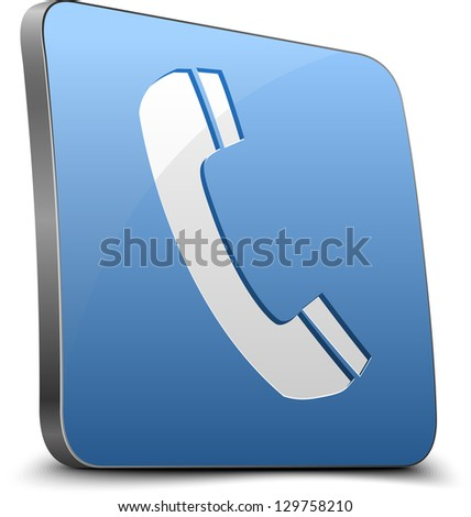 Call button - stock photo