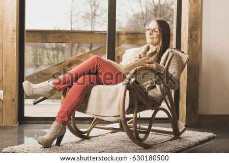 Afraid kidnapped businesswoman tied rope chair stock photo for Sitting easy chairs