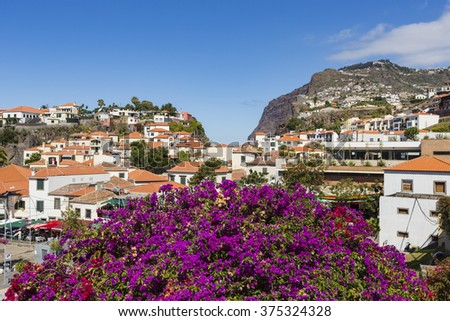 Camara de Lobos is a city in the south-central coast of Madeira, Portugal