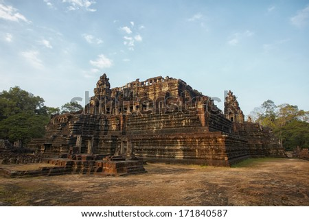 Cambodia Angkor complex ancient ruins Baphuon temple