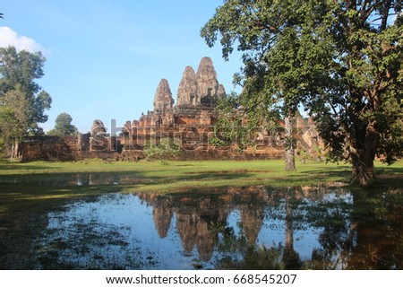 Cambodia. Pre Rup Temple. Siem Reap Province. Siem Reap City.