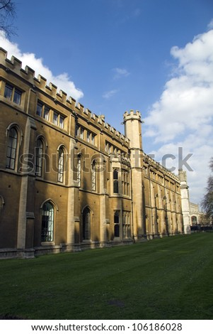 Cambridge - stock photo