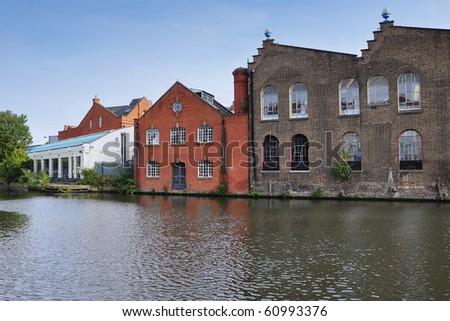 Camden town, London - stock photo