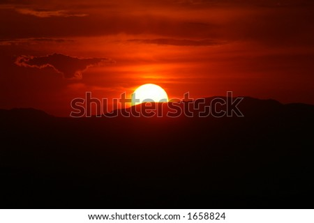 Camelback Sunrise - stock photo