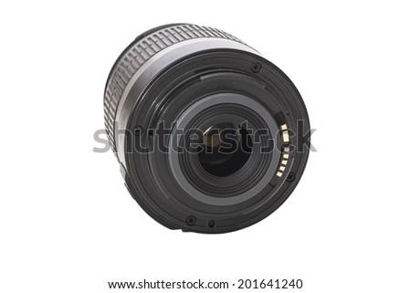 Camera  dslr lens  - stock photo