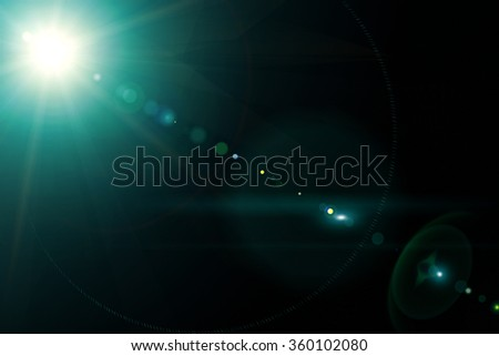 Camera lens with lense reflections. Macro concepts. - stock photo