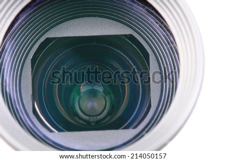 camera lense background