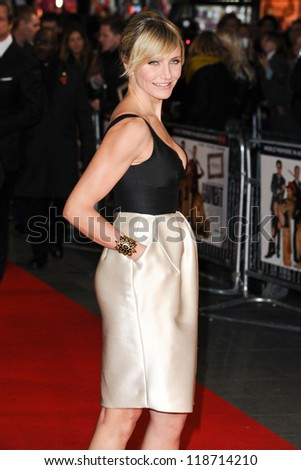 Cameron Diaz arriving for the World Premiere of Gambit, at the Empire Leicester Square, London. 07/11/2012 Picture by: Steve Vas - stock photo