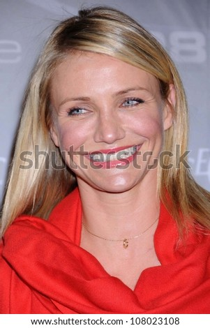 Cameron Diaz  at the 2008 Crystal And Lucy Awards Gala. Beverly Hilton Hotel, Beverly HIlls, CA. 06-17-08