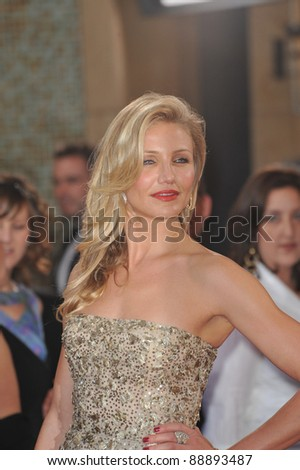 Cameron Diaz at the 82nd Annual Academy Awards at the Kodak Theatre, Hollywood. March 7, 2010  Los Angeles, CA Picture: Paul Smith / Featureflash - stock photo