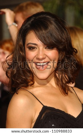Camille Guaty  arriving at the 59th Annual Primetime Emmy Awards. The Shrine Auditorium, Los Angeles, CA. 09-16-07