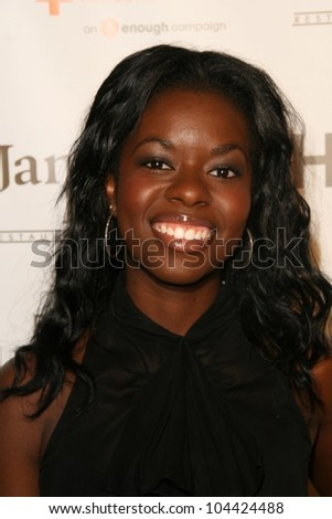 Camille Winbush  at the Raise Hope for the Congo Hollywood Event. Janes House, Los Angeles, CA. 06-28-09