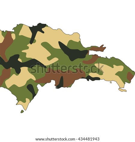 Camo texture in map - Dominican Republic