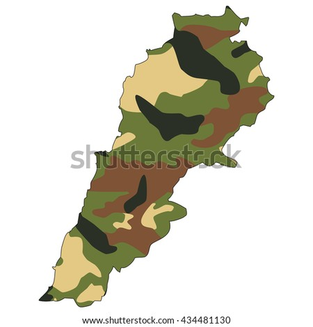 Camo texture in map - Lebanon