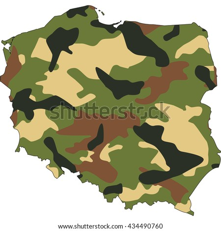 Camo texture in map - Poland