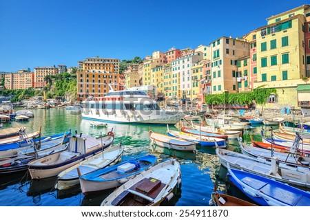 Camogli, Genoa, Italy - stock photo