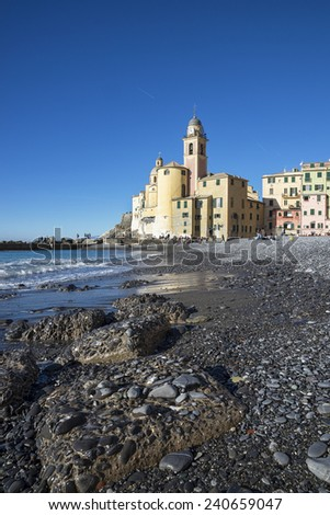 Camogli's seaside