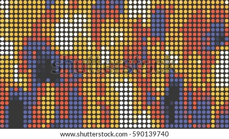camouflage abstract dot background