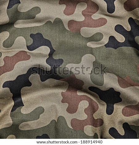 Camouflage pattern background or texture - stock photo
