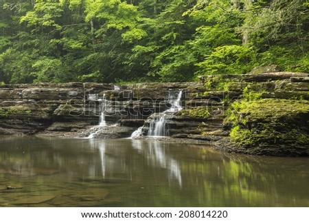 Campbell Falls - stock photo