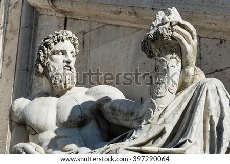 Campidoglio Rome, Italy  - stock photo