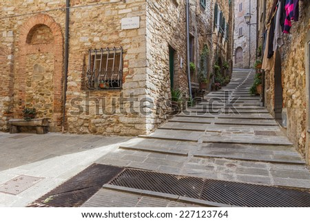 Campiglia Marittima is a comune (municipality) in the Province of Livorno in the Italian region Tuscany, located about 90 kilometres (56 mi) southwest of Florence