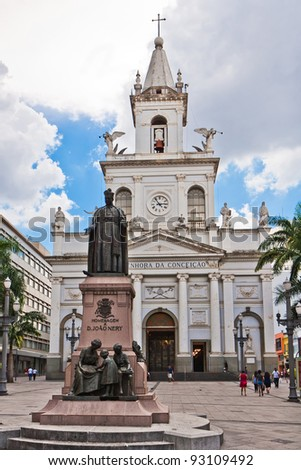 Campinas Church stands at the centrial area of Campinas city, Brazil.