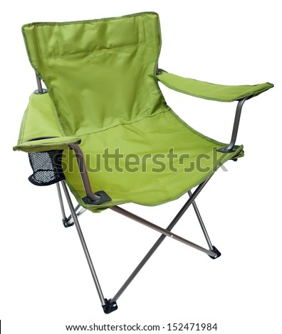 camping chair - stock photo